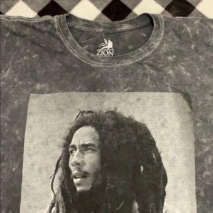 Men's Zion Rootswear Bob Marley TShirt